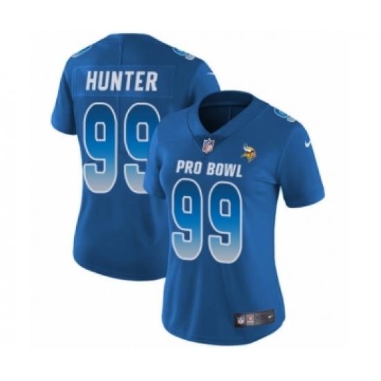45d70507ae1 Women's Nike Minnesota Vikings #99 Danielle Hunter Limited Royal Blue NFC  2019 Pro Bowl NFL