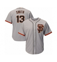 Youth San Francisco Giants #13 Will Smith Authentic Grey Road 2 Cool Base Baseball Jersey