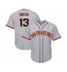 Youth San Francisco Giants #13 Will Smith Authentic Grey Road Cool Base Baseball Jersey