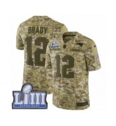 c86479149 Youth Nike New England Patriots  12 Tom Brady Limited Camo 2018 Salute to Service  Super