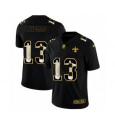 Men's New Orleans Saints #13 Michael Thomas Black Jesus Faith Limited Football Jersey