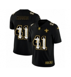 Men's New Orleans Saints #41 Alvin Kamara Black Jesus Faith Limited Football Jersey