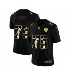 Men's Oakland Raiders #75 Howie Long Black Jesus Faith Limited Football Jersey