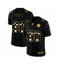 Men's Pittsburgh Steelers #30 James Conner Black Jesus Faith Limited Player Football Jersey