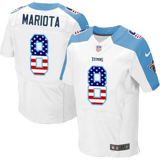 quality design 8c0ef e0382 nike titans 8 marcus mariota black youth stitched nfl ...