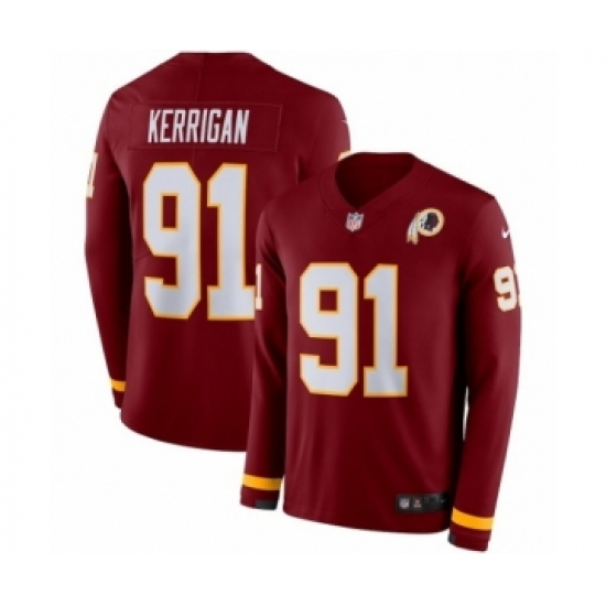 promo code 02fc9 f9ce6 Youth Nike Washington Redskins #91 Ryan Kerrigan Limited ...
