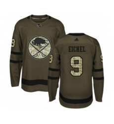 Youth Adidas Buffalo Sabres  9 Jack Eichel Premier Green Salute to Service NHL  Jersey 61586ab12