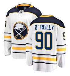 Youth Buffalo Sabres #90 Ryan O'Reilly Fanatics Branded White Away Breakaway NHL Jersey