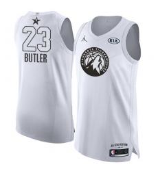 the best attitude 84f11 8f842 Men's Nike Minnesota Timberwolves #23 Jimmy Butler Authentic ...