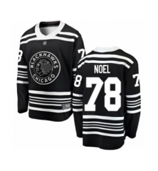 Men's Chicago Blackhawks #78 Nathan Noel Black Alternate Fanatics Branded Breakaway Hockey Jersey