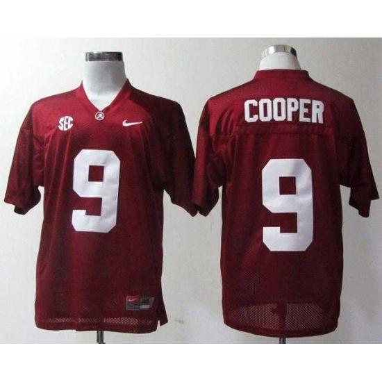 NEW Alabama Crimson Tide Amari Cooper 9 Crimson College Football Jerseys 2b176b28a