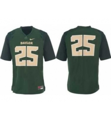 Baylor Bears 25# Lache Seastrunk Green College Football Nike NCAA Jerseys