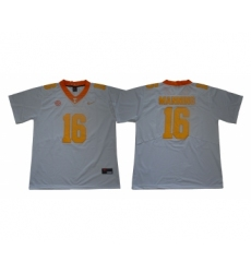 Tennessee Volunteers 16 Peyton Manning White Nike College Football Jersey