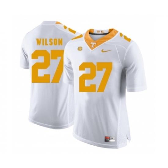 san francisco 92672 91dd2 Tennessee Volunteers 27 Al Wilson White College Football ...
