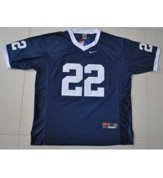 Nittany Lions #22 Navy Blue Embroidered NCAA Jersey