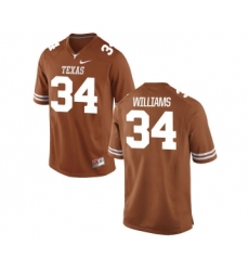 Texas Longhorns 34 Ricky Williams Orange Nike College Jersey