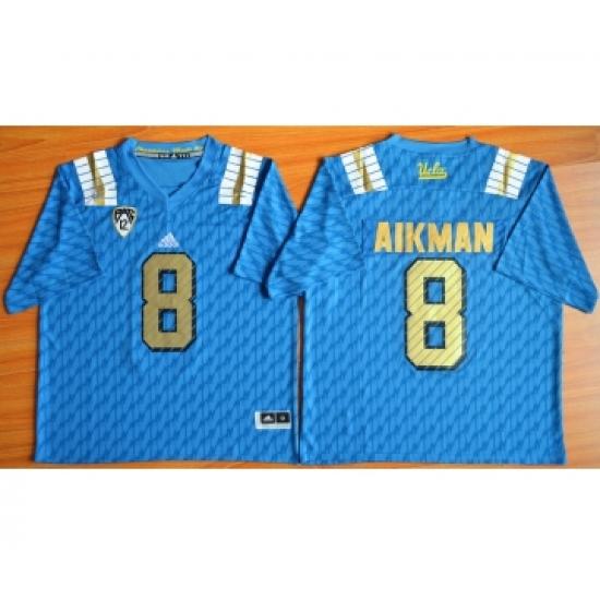 size 40 fa48d 70e44 UCLA Bruins 8 Troy Aikman Blue College Jersey ...