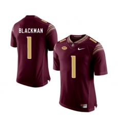 Florida State Seminoles 1 James Blackman Marroon College Football Jersey