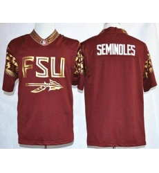 Florida State Seminoles Blank Red Pride Fashion Stitched NCAA Jersey