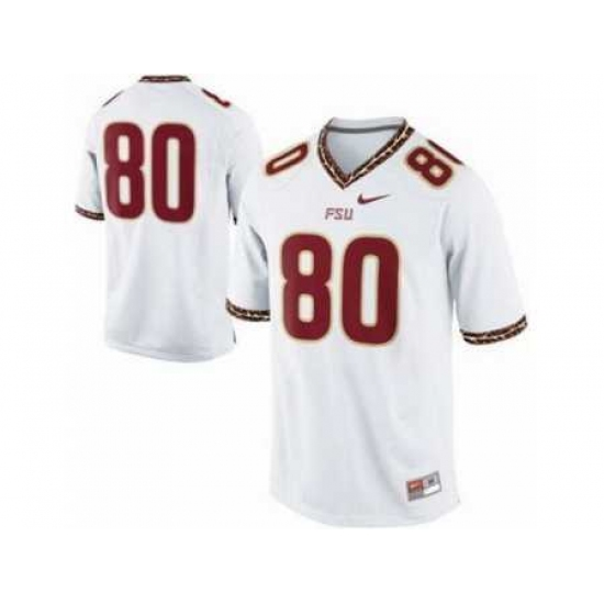 Florida State Seminoles FSU 80# Rashad Greene White College Football Nike NCAA Jerseys