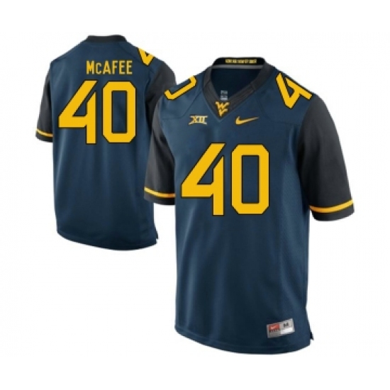 info for ab04f 6ee23 West Virginia Mountaineers 40 Pat McAfee Navy College ...