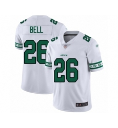 Men's New York Jets #26 Le'Veon Bell Limited White Team Logo Fashion Football Jersey