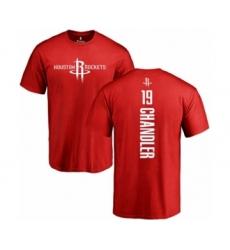 Basketball Houston Rockets #19 Tyson Chandler Red Backer T-Shirt