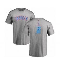 Basketball Oklahoma City Thunder #3 Chris Paul Ash Backer T-Shirt