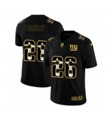 Men's New York Giants #26 Saquon Barkley Black Jesus Faith Limited Football Jersey