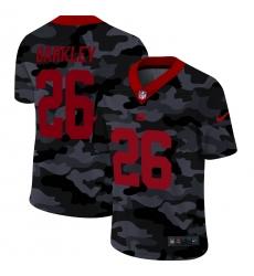 Men's New York Giants #26 Saquon Barkley Camo 2020 Nike Limited Jersey