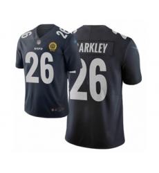 Women's New York Giants #26 Saquon Barkley Limited Black City Edition Football Jersey