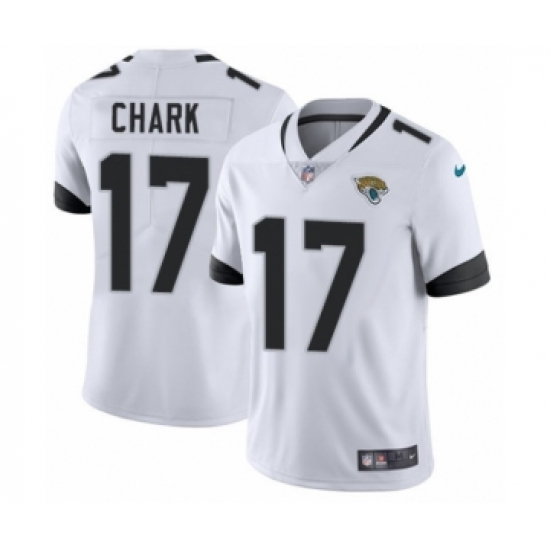 Youth Nike Jacksonville Jaguars  17 DJ Chark White Vapor Untouchable Limited  Player NFL Jersey 3bba6b053