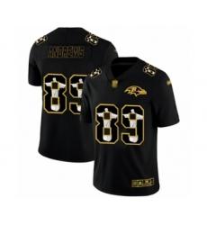 Men's Baltimore Ravens #89 Mark Andrews Black Jesus Faith Limited Player Football Jersey