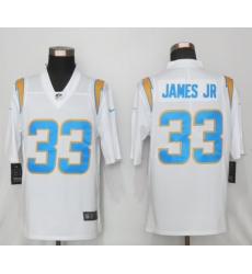Nike NFL Los Angeles Chargers #33 Derwin James jr White 2020 Vapor Limited Jersey