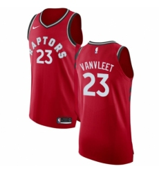 Youth Nike Toronto Raptors  23 Fred VanVleet Authentic Red NBA Jersey -  Icon Edition f98f693a2