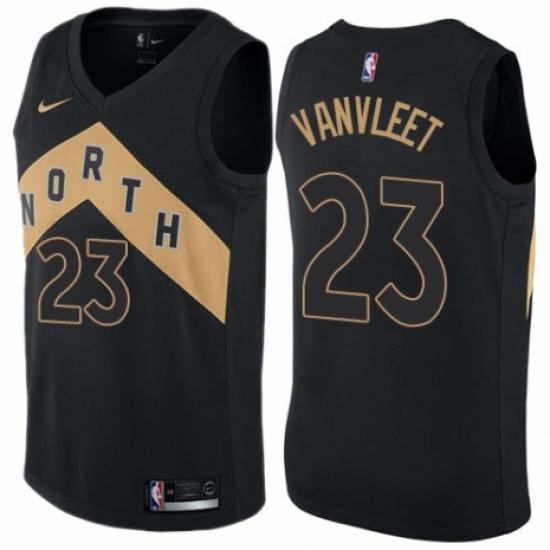 Youth Nike Toronto Raptors  23 Fred VanVleet Swingman Black NBA Jersey - City  Edition 656c226c8