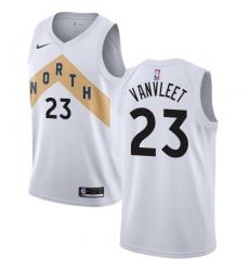 Youth Nike Toronto Raptors  23 Fred VanVleet Swingman White NBA Jersey - City  Edition 19c883ebb