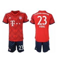 2018-2019 Bayern Munich home 23 Club Soccer Jerseyey