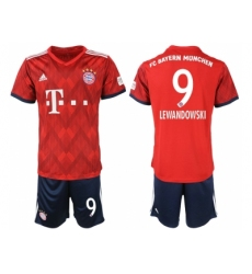 2018-2019 Bayern Munich home 9 Club Soccer Jersey