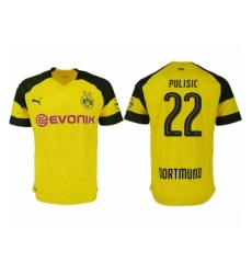 2018-2019 Dortmund home aaa version 22 Club Soccer Jersey