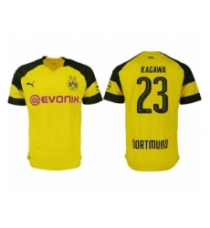 2018-2019 Dortmund home aaa version 23 Club Soccer Jersey
