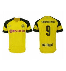 2018-2019 Dortmund home aaa version 9 Club Soccer Jersey