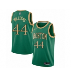 Men's Boston Celtics #44 Robert Williams Swingman Green Basketball Jersey - 2019 20 City Edition