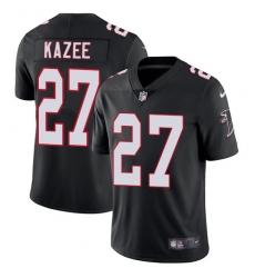 cd6462ab0 Men s Nike Atlanta Falcons  27 Damontae Kazee Black Alternate Vapor  Untouchable Limited Player NFL Jersey