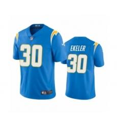 Los Angeles Chargers #30 Austin Ekeler Powder Blue 2020 Vapor Limited Jersey