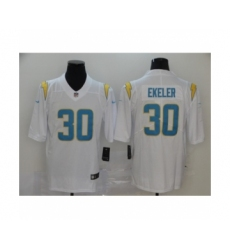 Los Angeles Chargers #30 Austin Ekeler white 2020 Vapor Limited Jersey