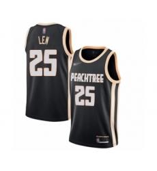 Men's Atlanta Hawks #25 Alex Len Swingman Black Basketball Jersey - 2019 20 City Edition