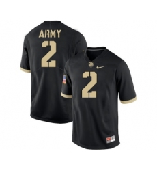 Army Black Knights 2 James Gibson Black College Football Jersey