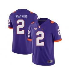 Clemson Tigers 2 Sammy Watkins Purple Nike College Football Jersey