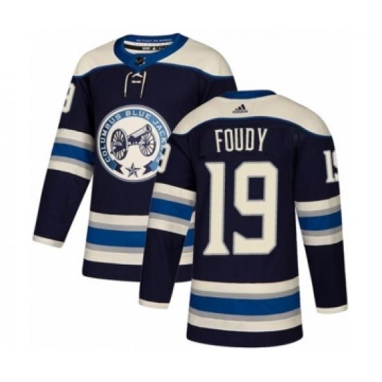 finest selection 724fe 3b6df Youth Adidas Columbus Blue Jackets #19 Liam Foudy Premier ...
